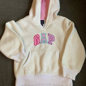 Cozy toddler girls hoodie